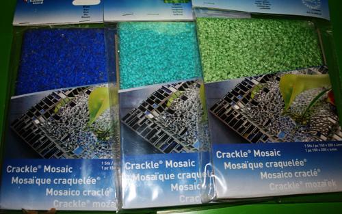 Mosaik-Lampe