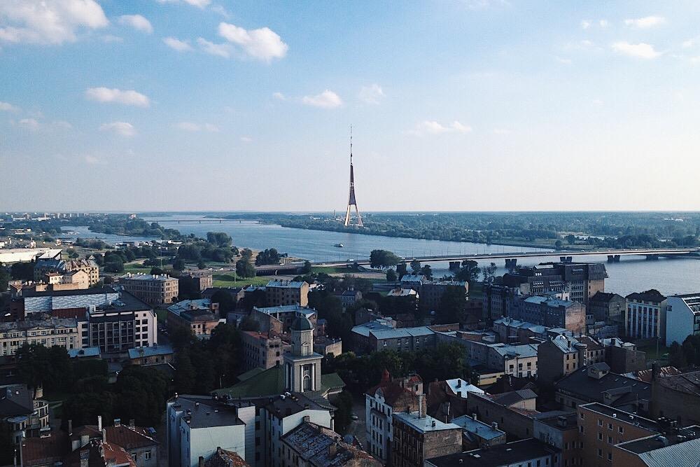 Aussichtsplattform Akademie der Wissenschaft - Riga