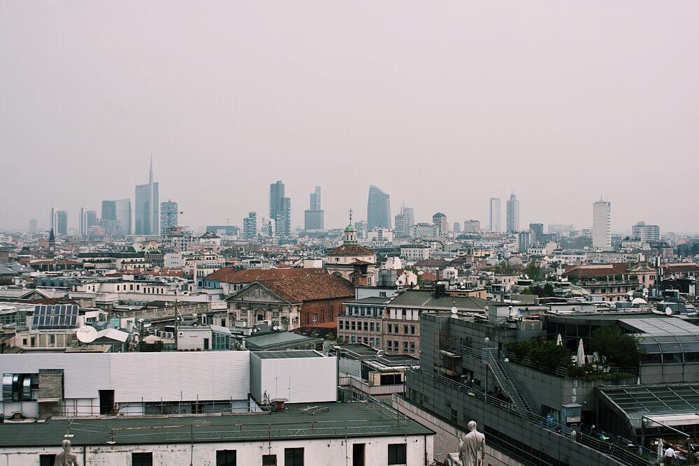 Aussichtsplattform Mailand - Duomo