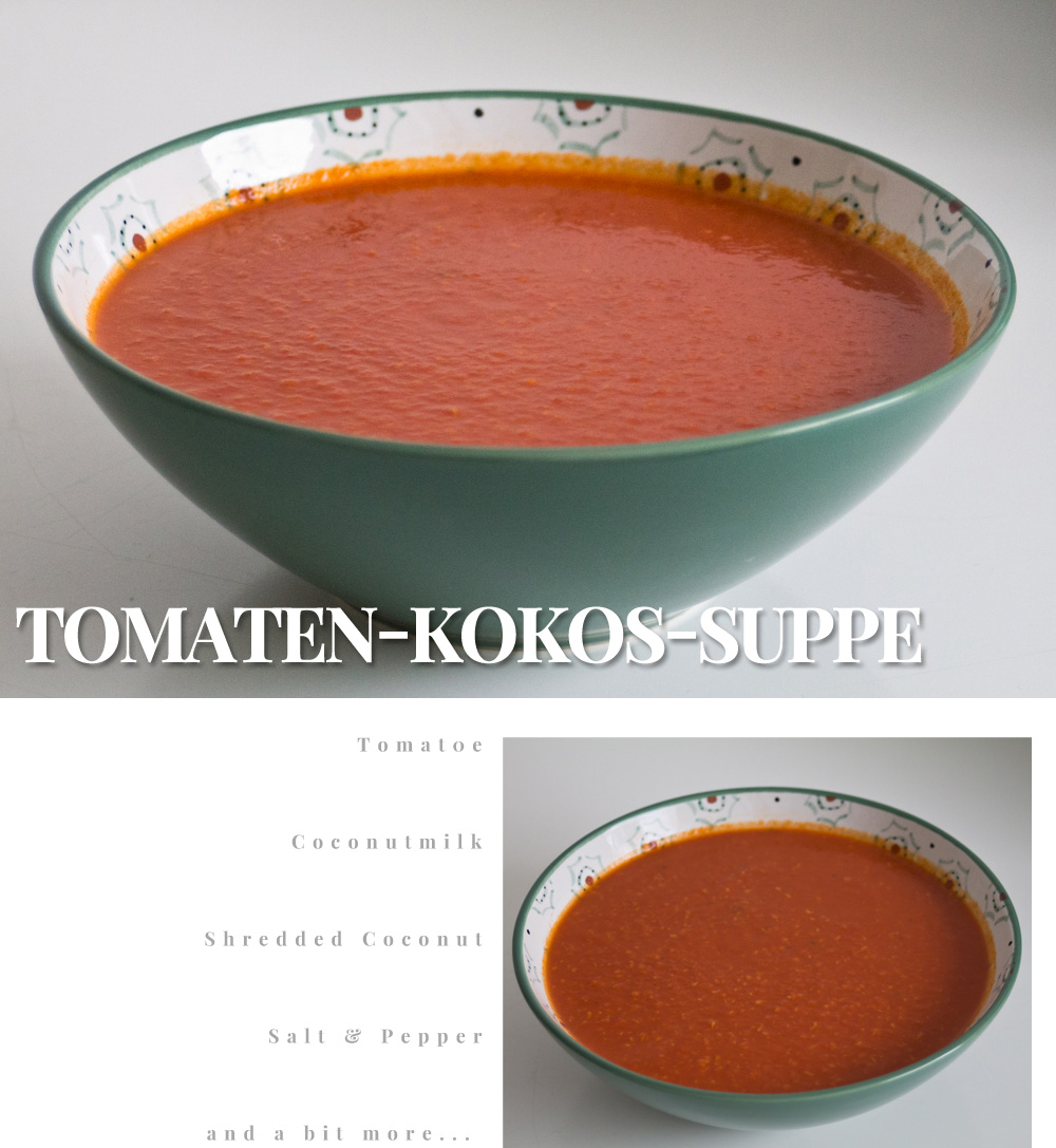 tomaten-kokos suppe