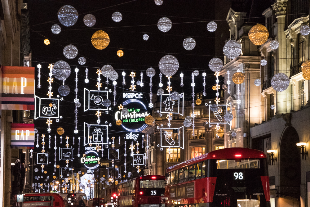 London Oxford Street Bucket List 2018